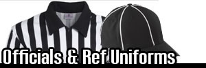 Custom Officials Jerseys and Refree Shirts