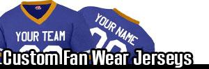 Football Fan Wear and Women's Football Jersey