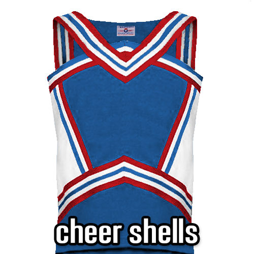 Cheer Tops and Shells