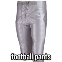 Football Pants Pads & Integrated