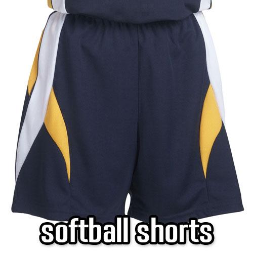 Women's Softball Shorts