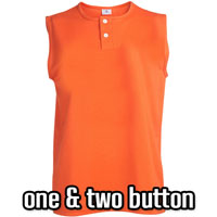 One & Two Button Ladies Softball Jerseys