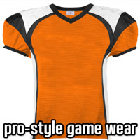 Pro Style Football Game Jerseys