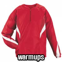 Baseball Warm Ups and Baseball Jackets