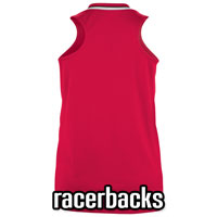 Customized Racer Back Women's Softball Jerseys