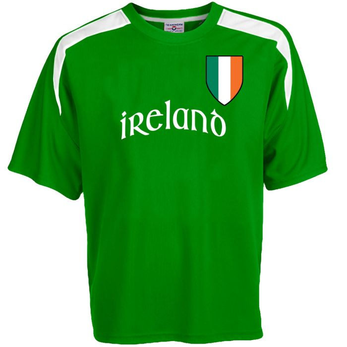 wholesale dealer b3fb6 234dd Custom Ireland Soccer Jersey Personalized with Your Names and Numbers