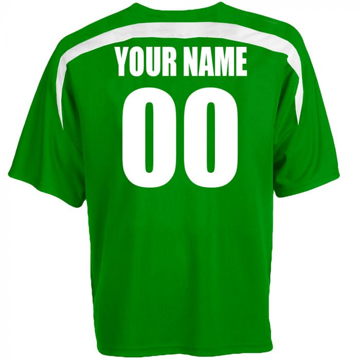 wholesale dealer 64363 c9d19 Custom Ireland Soccer Jersey Personalized with Your Names and Numbers