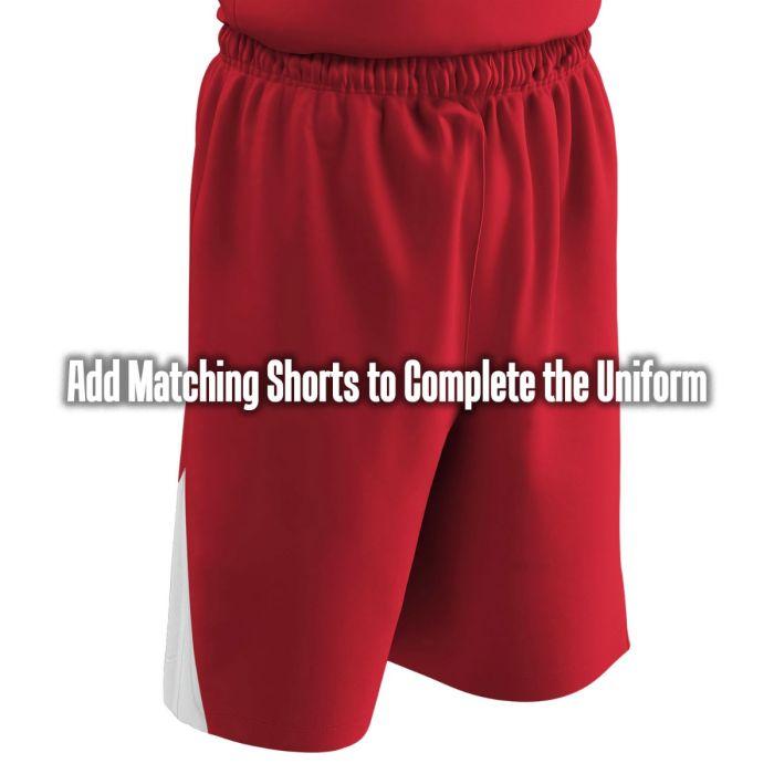 5d956eff7ad5 Champro dri-gear® pro-plus reversible basketball short to coordinate with  Hardkor Printed Custom Basketball Jerseys