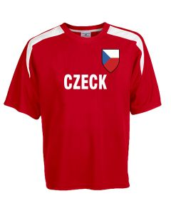 Custom Czeck Soccer Jersey Personalized with Your Names and Numbers