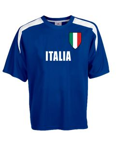 Custom Italia Soccer Jersey Personalized with Your Names and Numbers