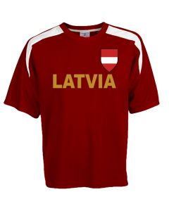 Custom Latvia Soccer Jersey Personalized with Your Names and Numbers