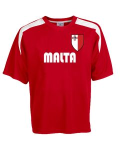 Custom Malta Soccer Jersey Personalized with Your Names and Numbers