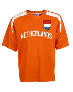 Custom Netherlands Soccer Jersey Personalized with Your Names and Numbers