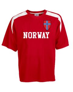 Custom Norway Soccer Jersey Personalized with Your Names and Numbers