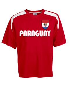 Custom Paraguay Soccer Jersey Personalized with Your Names and Numbers