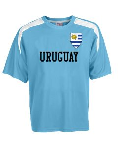 Custom Uruguay Soccer Jersey Personalized with Your Names and Numbers