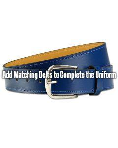 Economical Leather Baseball Belt