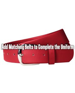 Athletic Stretch Baseball Belt with Stretch Polyurethane and Reinforced Buckle
