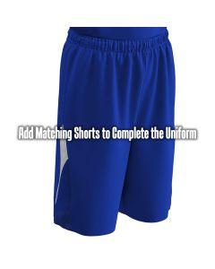 Reverse Basketball Short | Angle Down Side Mesh Insert
