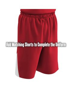 Pro Style Triangle Side Trim reversible basketball short