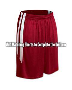 Old School Style Contrast Double Side Stripe Basketball Short