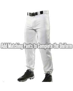 Triple Crown Knicker Baseball Pant TEK-KNIT Pro Weight 14 oz polyester
