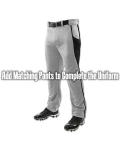 Triple Crown open bottom 2 pocket baseball pants with braid | Pro Weight Poly