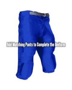 Youth Stretch Football Dazzle Pant With Snaps