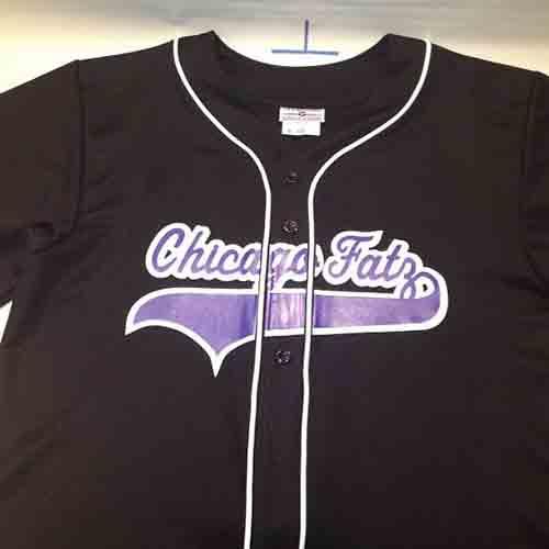 Chicago fats #custom #baseball #jersey