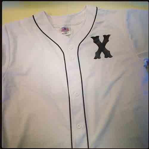 #Custom Malcolm X #baseball #jersey