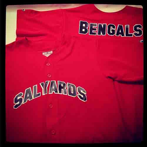 #Customized #Bengals #baseball #jerseys