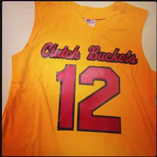 00e162e44a8 ... clutch buckets gold black and scarlet red  basketball  jerseys