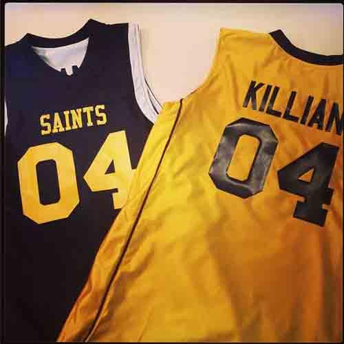da0944922ff  Customized  reversible  Saints  basketball  Jerseys ...