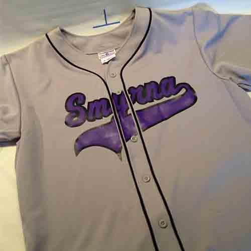 #Custom #silver With black Braid #smyrna full button #baseball #jersey