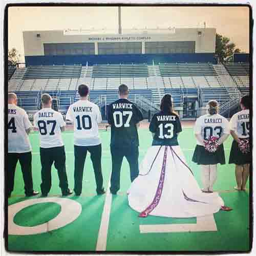 Soccer Themed Wedding Ideas: Browse Recent Customer Projects For Football Uniforms
