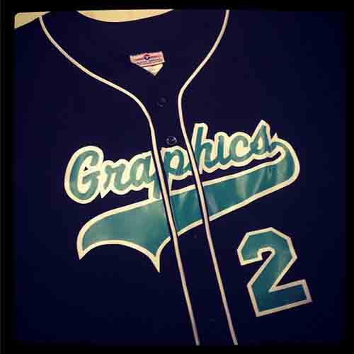 #Personalized #navy #baseball #jersey with white braid and #SharkTeal lettering