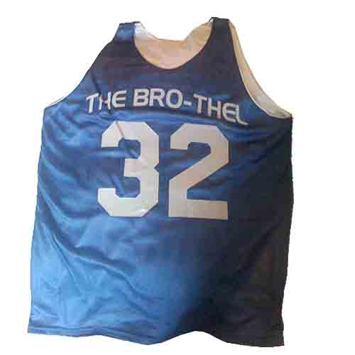 514a940a2c2 ... the bro-thel custom reversible basketball jersey with royal and silver  ...