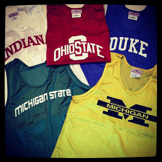 basketball jerseys with various designs