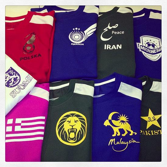 Northwestern University custom soccer jerseys