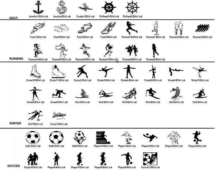 clip art misc nautical to soccer