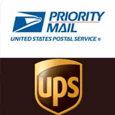priority mail and ups logo